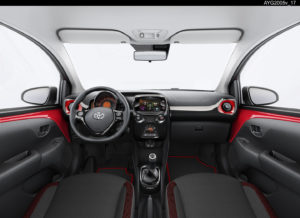 Toyota Aygo X-Cite Red Edition