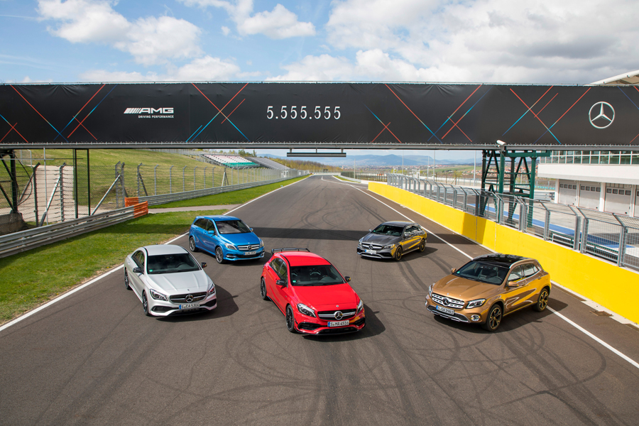 Oltre 5 milioni di Mercedes vendute