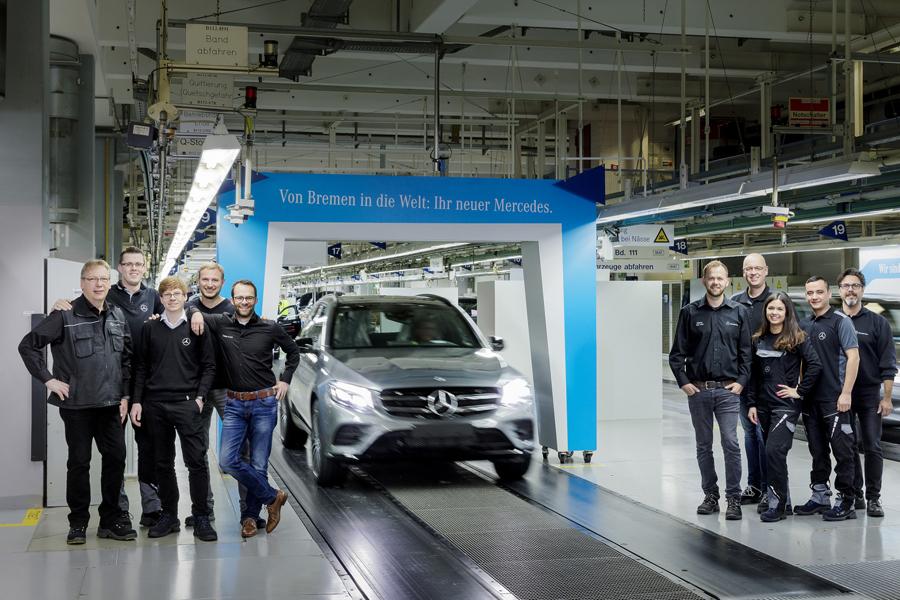 Mercedes-Benz stabilimento di Brema