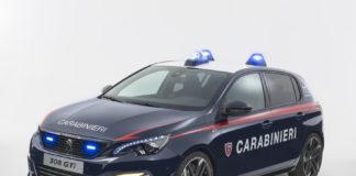 Peugeot 308 GTi by Peugeot Sport ai Carabinieri