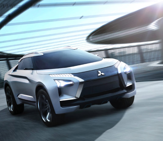 Mitsubishi e-VOLUTION CONCEPT