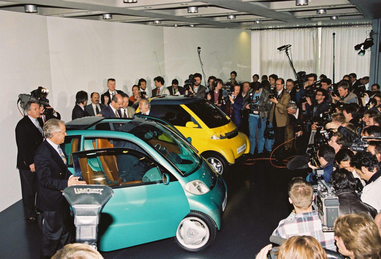 smart presskonferenz Museum 1994