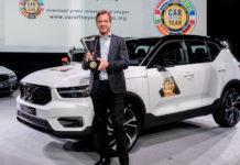 Volvo XC40 Auto dell'Anno 2018