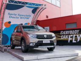 Dacia serie speciale WOW