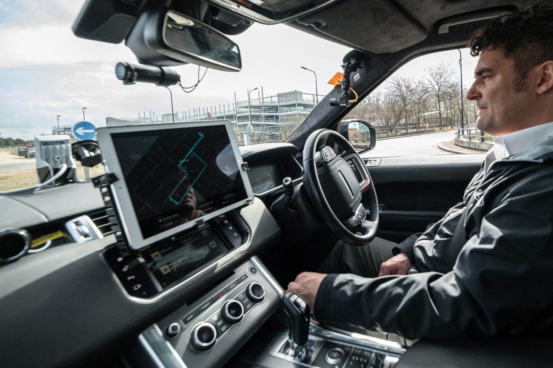 Jaguar Land Rover_Self Driving Valet