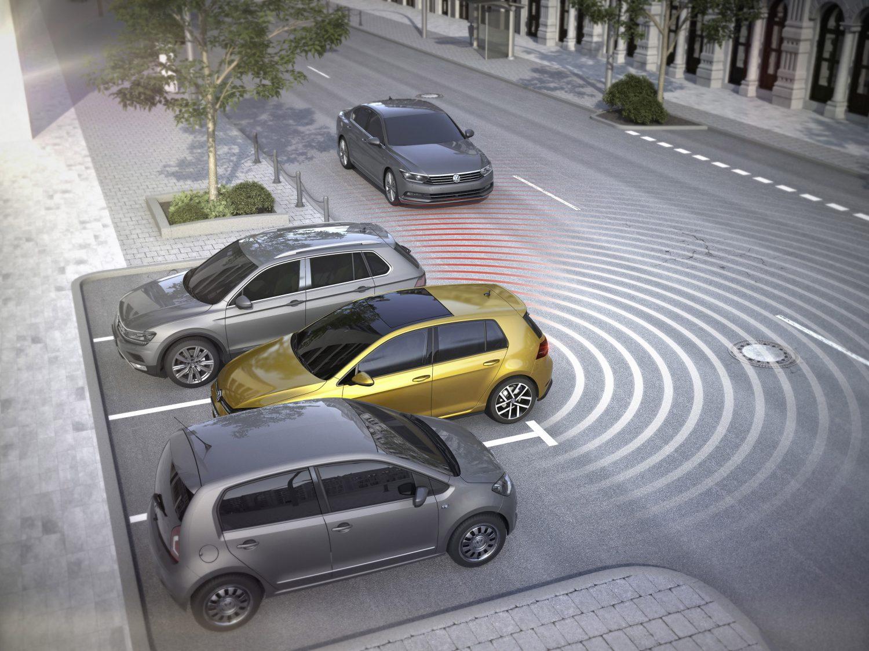 Volkswagen Rear Traffic Alert