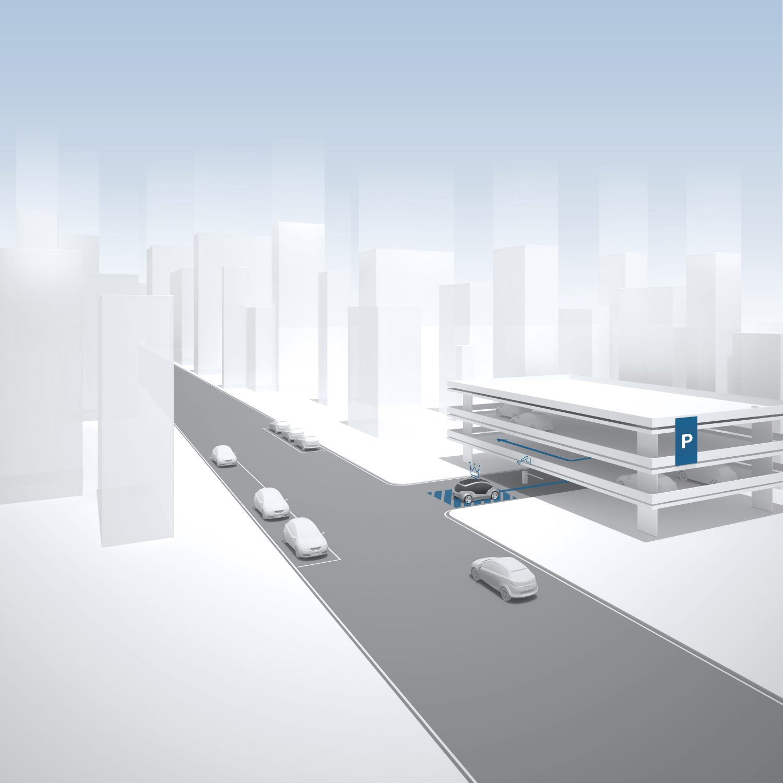 Parcheggio autonomo Bosch