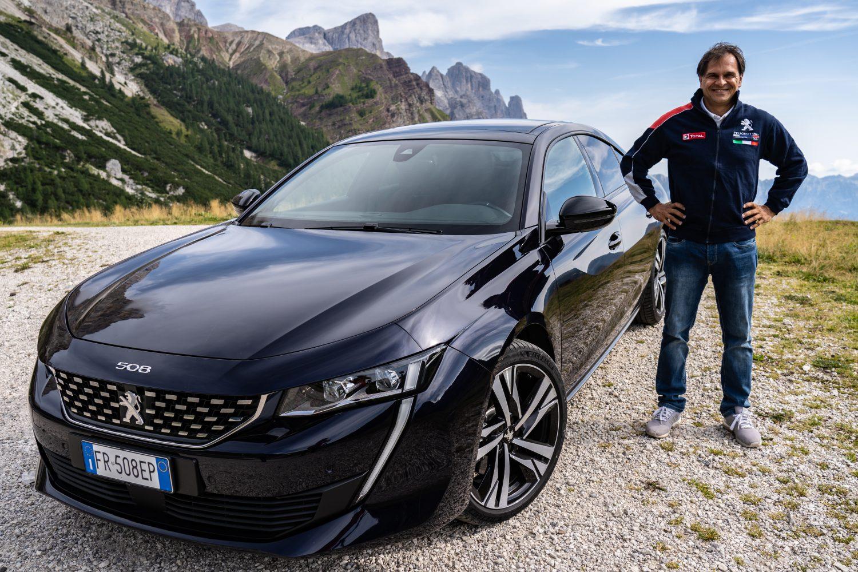 Paolo Andreucci e la Peugeot 508