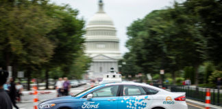 Ford e la guida autonoma Washington