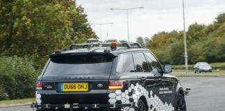 Range Rover guida autonoma