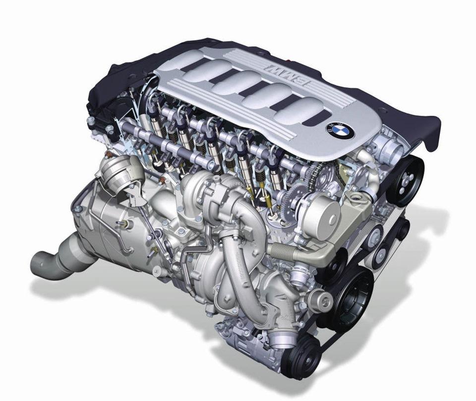 Motore BMWd 3.0L del 2008 equipaggiato con l'R2S BW.