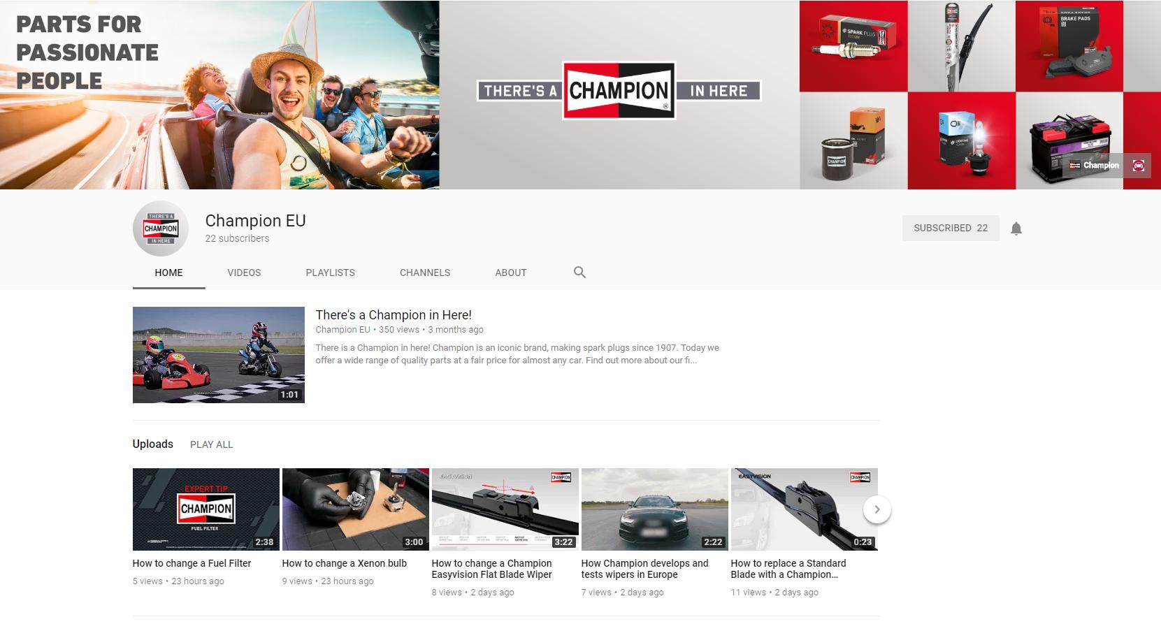 Champion EU_YouTube