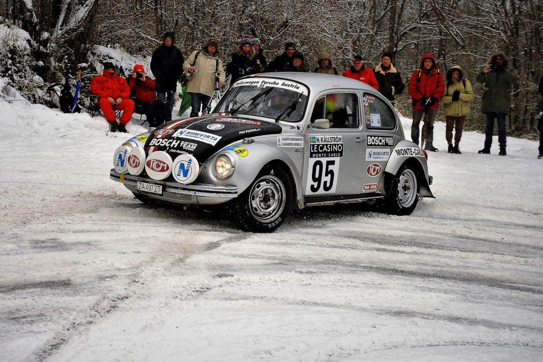 Rallye storico Montecarlo