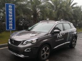 Gruppo PSA guida autonoma in Cina