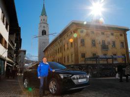 Audi e-tron e Gianpietro Ghedina