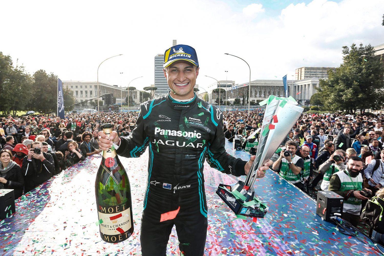 Mitch Evans vince la tappa di Roma della Formula E