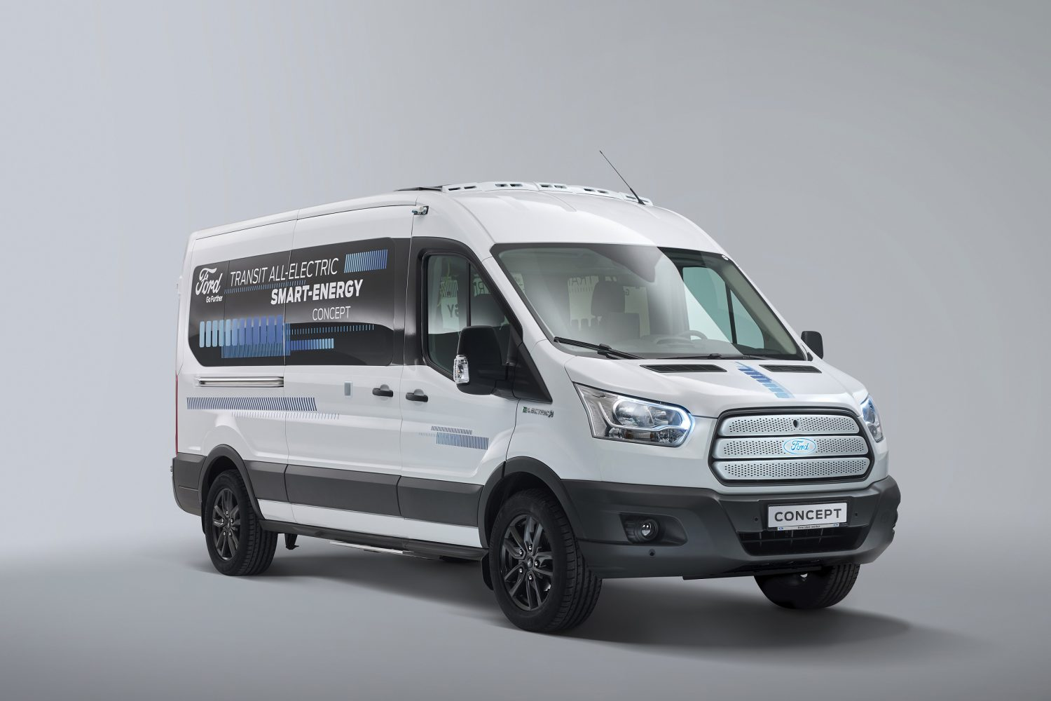Ford Transit All Electric Smart Energy Concept