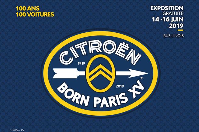 CITROEN BORN PARIS XV ESPOSIZIONE GRATUITA DAL 14 AL 16 GIUGNO DI 100 MODELLI ICONICI PER CELEBRARE 100 ANNI DI AUDACIA