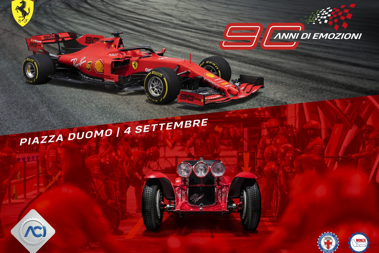 Festa Ferrari a Milano
