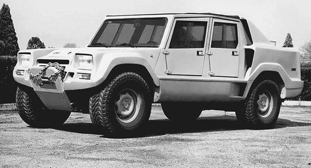 A Ginevra 1981 Lamborghini presentò un nuovo fuoristrada, denominato LM001, con motore AMC da 5,9 litri.