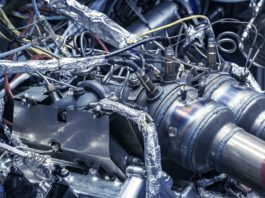 New Aston Martin V6 Engine