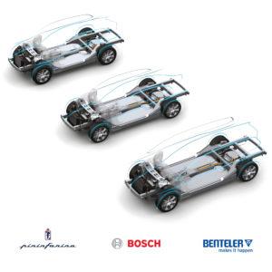 Bosch, Benteler e Pininfarina per le elettriche di domani