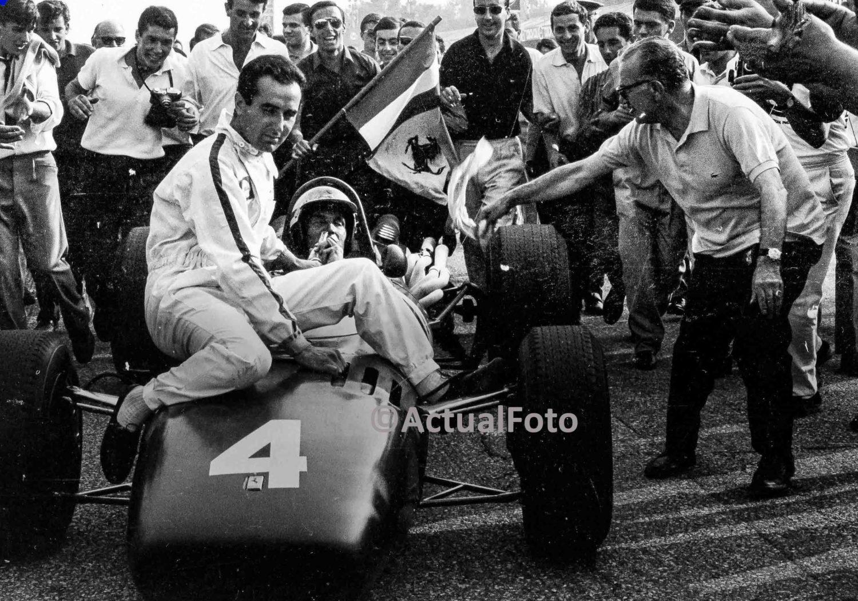 Lorenzo Bandini e la Ferrari