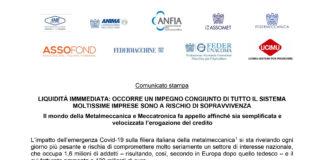 ANFIA Decreto Liquidità