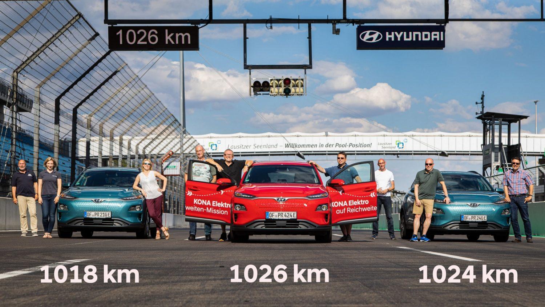 Hyundai Kona Record