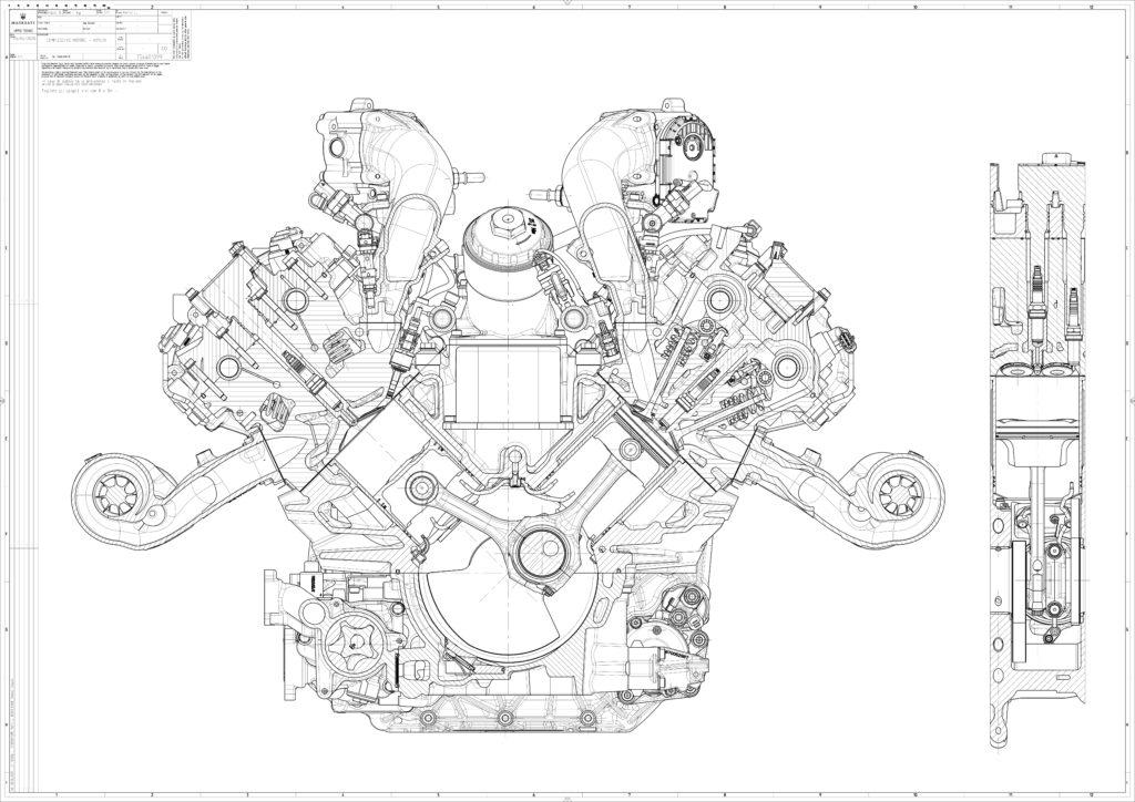 Motore Maserati Nettuno