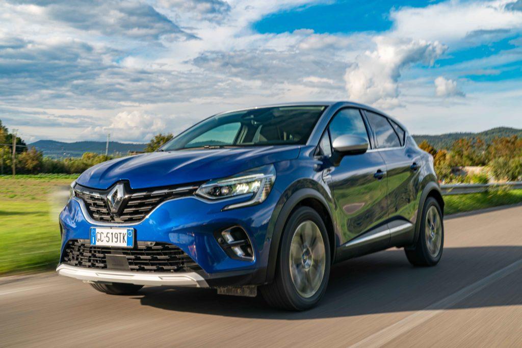 Renault Captur E-Tech Ibrida Plug-in