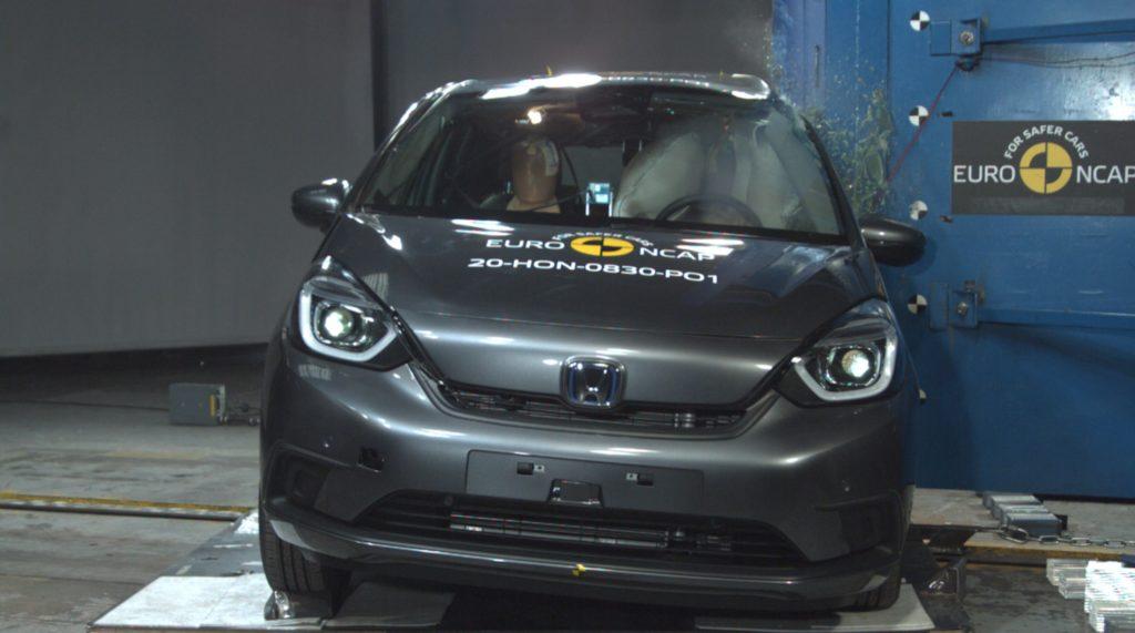 Honda Jazz Euro NCAP