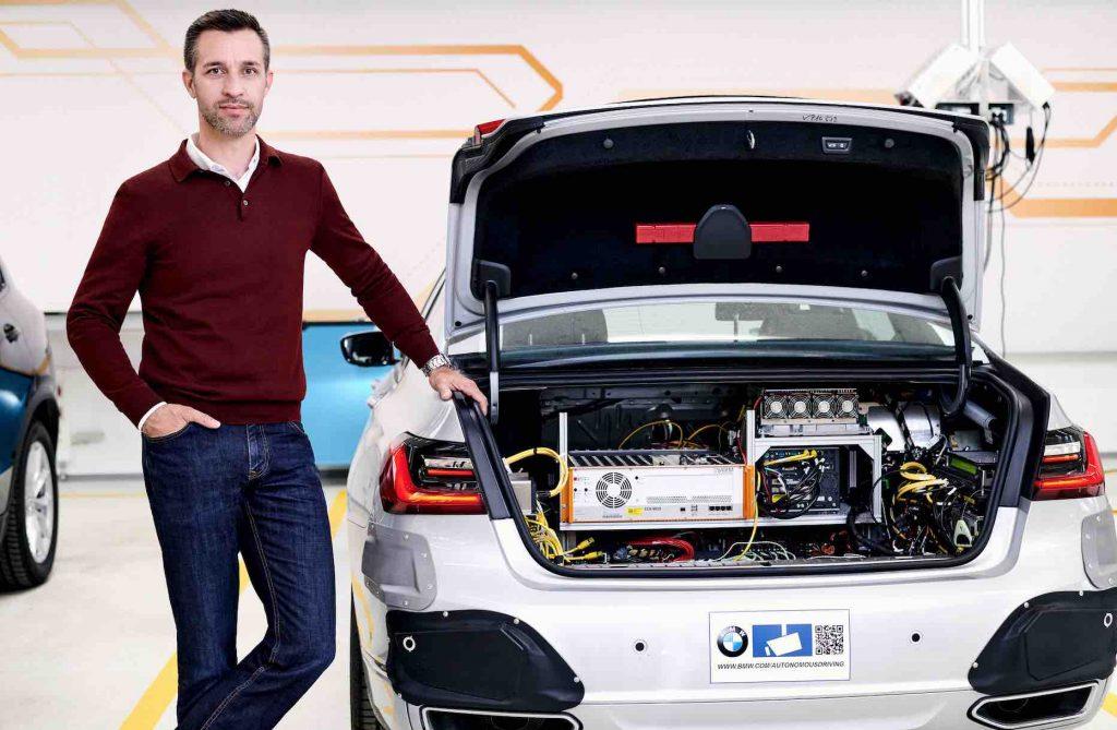 BMW e guida autonoma
