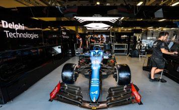 Alpine F1 Team e BorgWarner