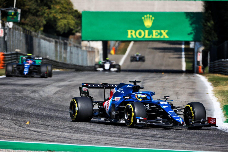 Alpine Monza 2021